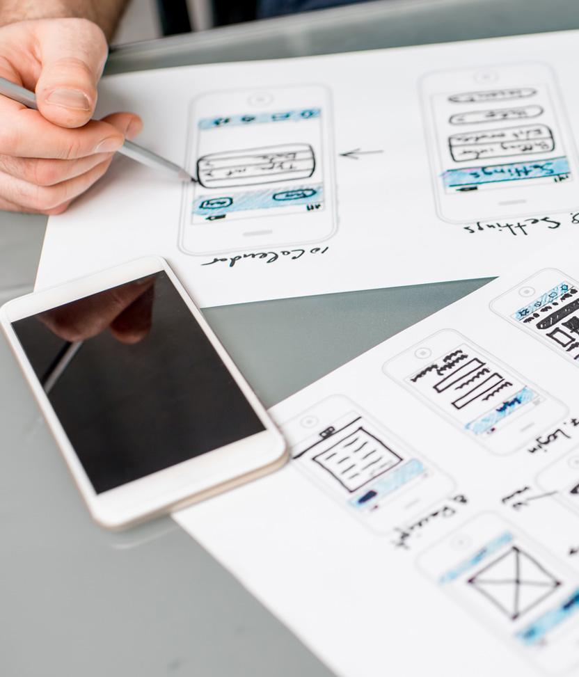Reuben Digital Website design and development