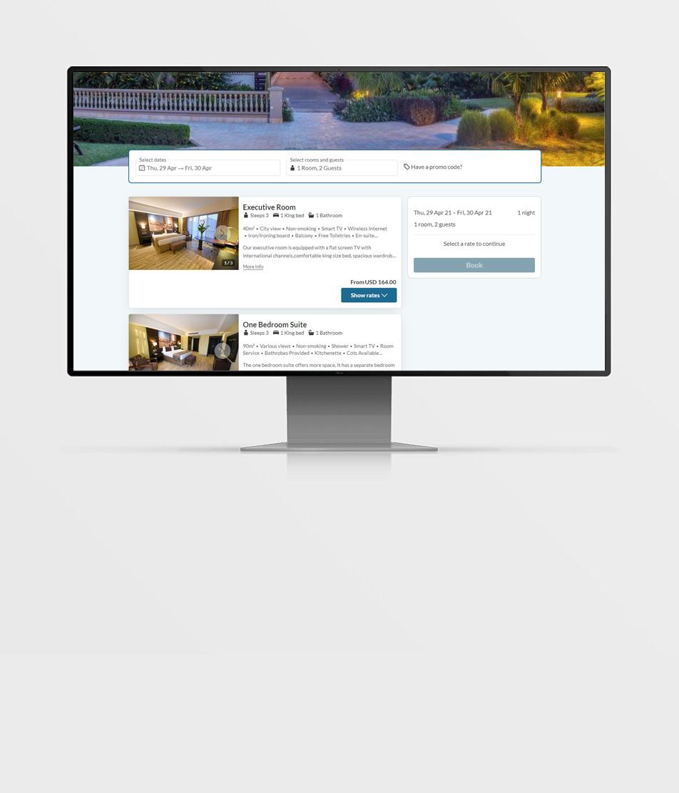 Mestil Hotel - Kampala Booking System - Reuben Digital