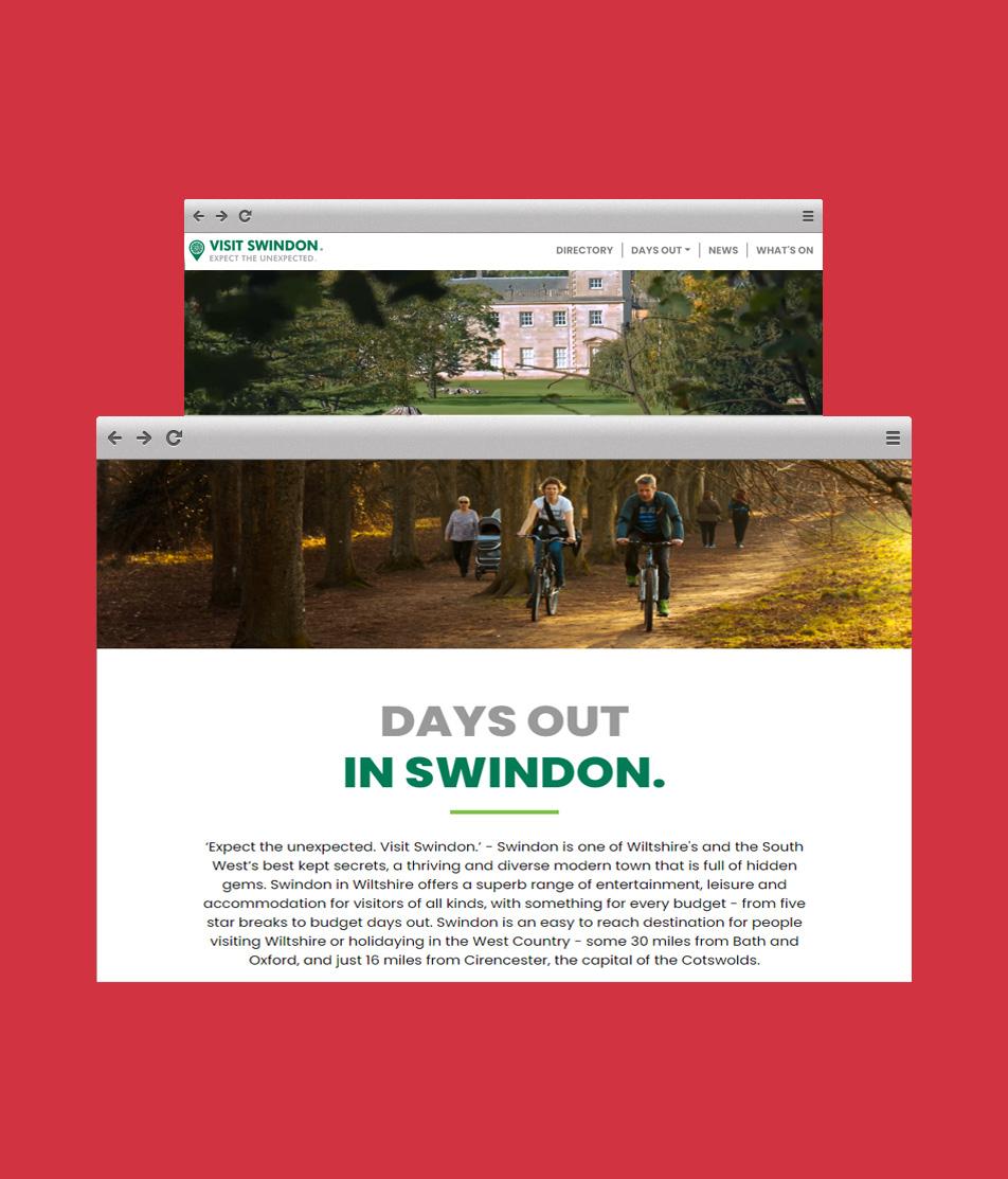 Visit Swindon Case Study Image